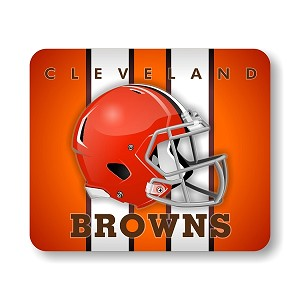 "Cleveland Browns Mouse Pad 9.25"" X 7.75"""