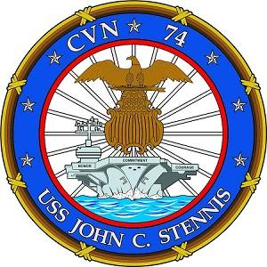 USS JOHN C STENNIS CVN 74 Vinyl Die-Cut Decal / Sticker * 4