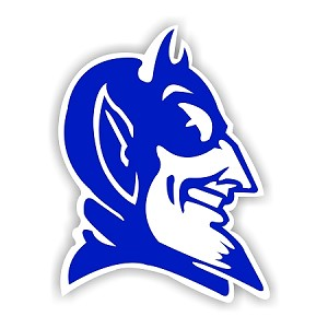 Duke Blue Devils C Die Cut Decal 4 Sizes