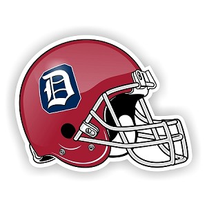 Duquense Dukes Helmet Die-Cut Decal ** 4 Sizes **