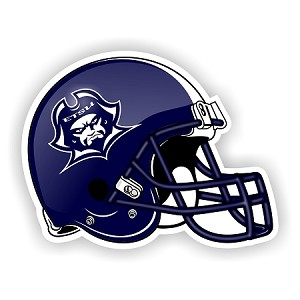 East Tennessee State Buccaneers  Blue Helmet Die-Cut Decal ** 4 Sizes **