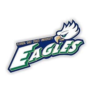 FGCU Florida Gulf Coast University Eagles (C) Die-Cut Decal ** 4 Sizes **