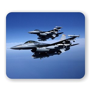 "Fighter Jets Mouse Pad  9.25"" X 7.75"""