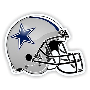 Helmet Dallas Cowboys Die-Cut Decal / Sticker ** 4 Sizes **