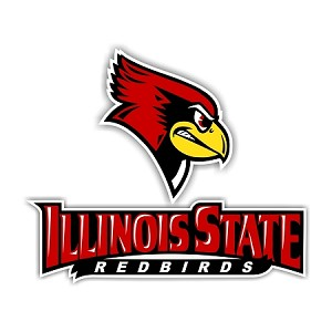 Illinois State Redbirds (D)  Vinyl Die-Cut Decal / Sticker ** 4 Sizes **