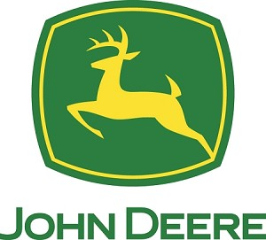 John Deere Die-cut Vinyl Decal / Sticker ** 4 Sizes **