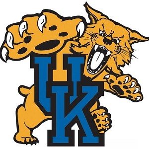 Kentucky  University Wildcats Alt B Vinyl Die-Cut Decal ** 4 Sizes **