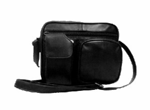 Lambskin Mini Travel Bag - Use as a purse or will hook onto your belt