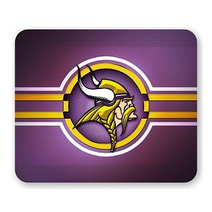 "Minnesota Vikings Mouse Pad 9.25"" X 7.75"""