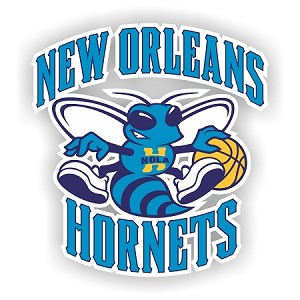 New Orleans Hornets  Vinyl Decal / Sticker * 4 Sizes*
