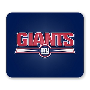 "New York Giants Mouse Pad 9.25"" X 7.75"""