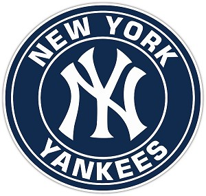 New York Yankees Style (E) Vinyl Die-Cut Decal / Sticker ** 4 Sizes **