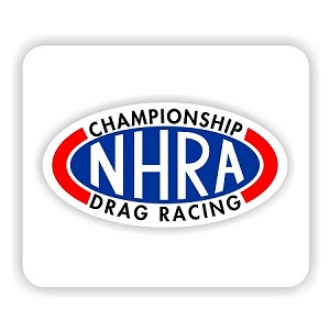 "NHRA Style (A)  Mouse Pad  9.25"" X 7.75"""