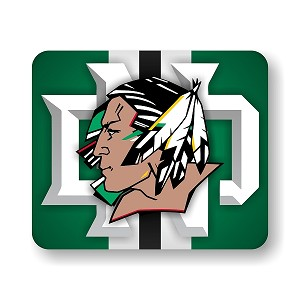 "North Dakota Fighting Sioux Mouse Pad 9.25"" X 7.75"""