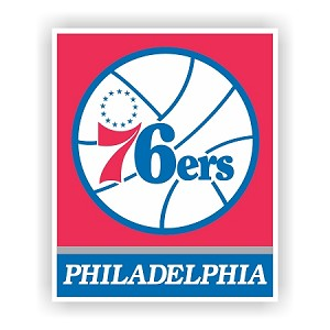 Philadelphia 76ers Vinyl Decal / Sticker * 4 Sizes*