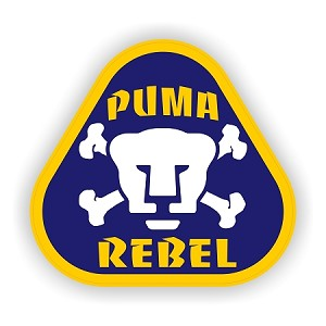 Puma Rebel UNAM (Color) Soccer Mexico Vinyl Die-Cut Decal / Sticker ** 4 Sizes **