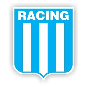 Racing Club de Avellaneda Argentina Soccer Vinyl Die-Cut Decal / Sticker 4 Sizes