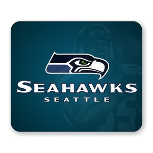 "Seattle Seahawks Mouse Pad 9.25"" X 7.75"""