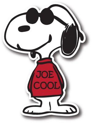 Snoopy Joe Cool Vinyl Die Cut Decal Sticker 4 Sizes