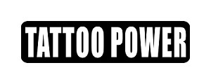"""TATTOO POWER"" Motorcycle Decal"