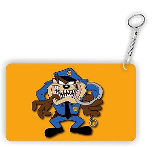 Taz Police Key Chain