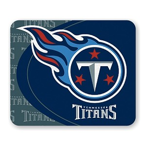 "Tennessee Titans Mouse Pad 9.25"" X 7.75"""