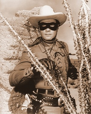 "The Lone Ranger 8x10"" Glossy Photo"
