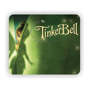 "Tinkerbell Mouse Pad  9.25"" X 7.75"""