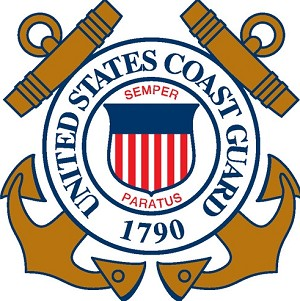 United States Coast Guard Die-cut Vinyl Decal / Sticker ** 4 Sizes **