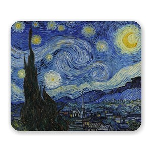 "Vincent Van Gogh ""Starry Night"" Mouse Pad 9.25"" X 7.75"""