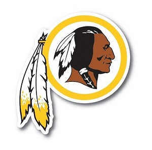 Washington Redskins Vinyl Die-Cut Decal / Sticker ** 4 Sizes **